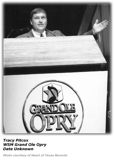 Tracy Pitcox - WSM Grand Ole Opry