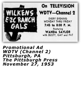 Promo Ad - EZC Ranch Gals - November 1954