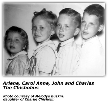 The Four Chisholm Kids - including Charlie and John