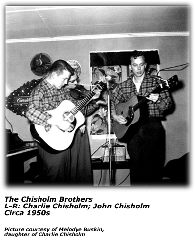 1950s - Charlie and John - Chisholm Brothers