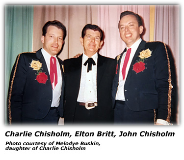 Chisholm Brothers with Elton Britt
