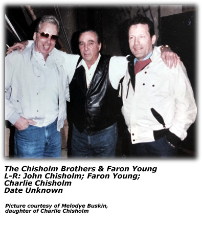 Chisholm Brothers with Faron Young (color)