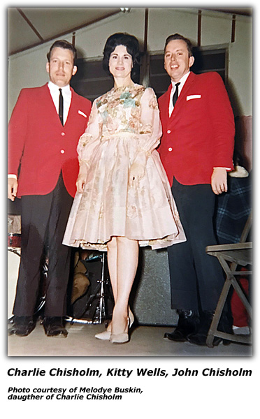 Chisholm Brothers with Kitty Wells
