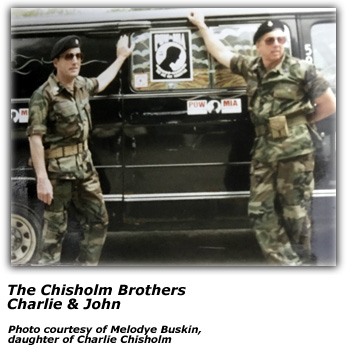 Chisholm Brothers - in uniform