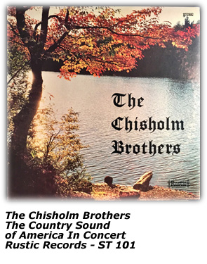 Album - Chisholm Brothers - Country Sounds of America In Concert