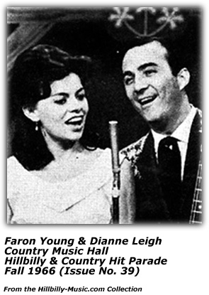 Dianne Leigh and Faron Young - Country Music Hall