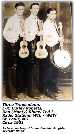 Three Troubadours 2 - Circa 1931