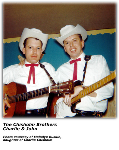 Chisholm Brothers - Charlie and John